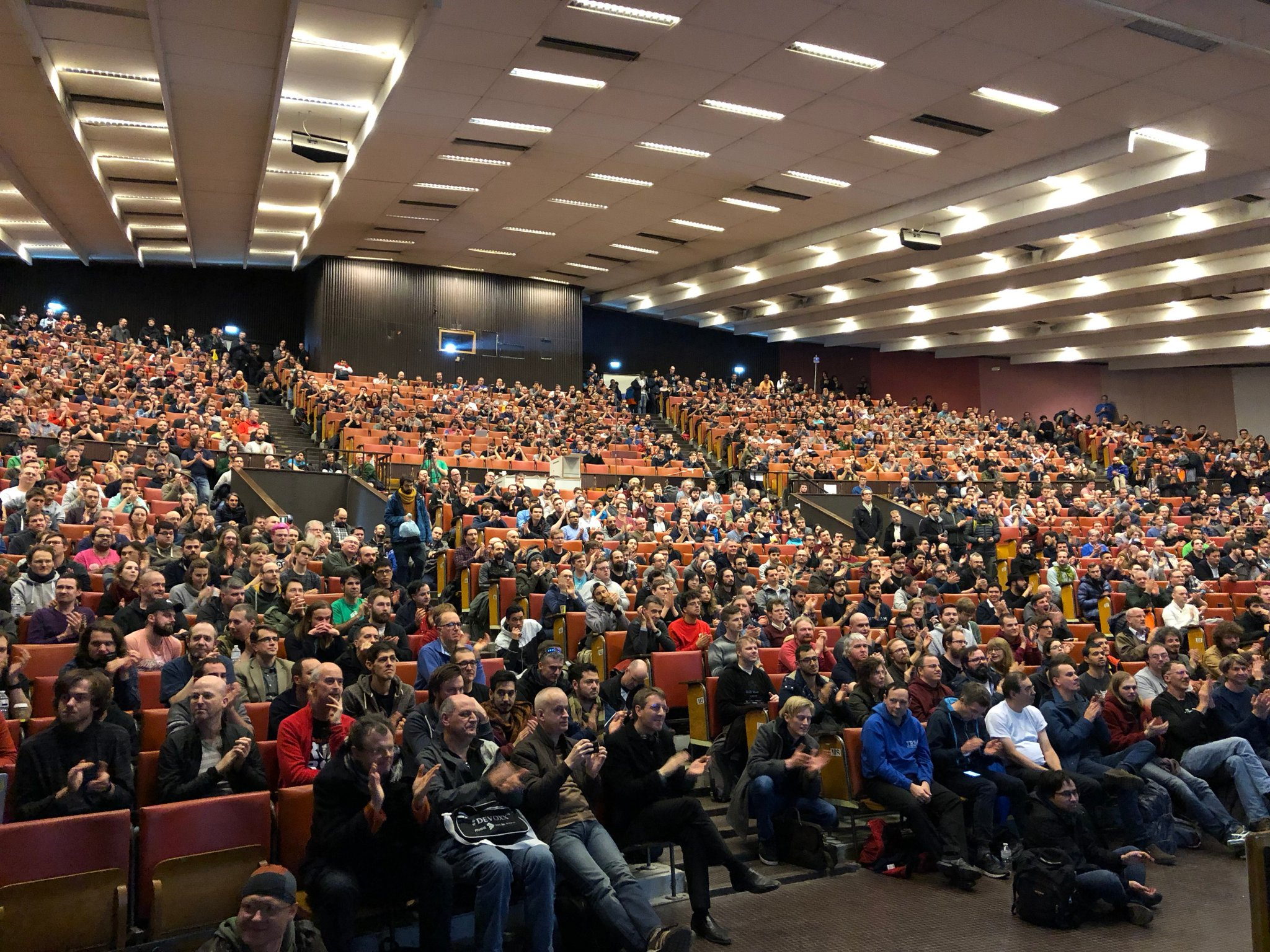 The closing talk at Fosdem in the main room